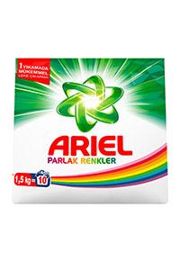 ARIEL 1,5 KG PARLAK RENKLER