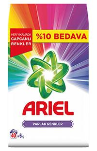 ARIEL 6 KG PARLAK RENKLER