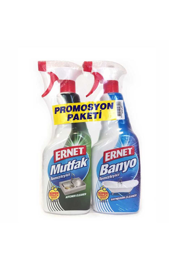 ERNET MUTFAK 750 ML+BANYO 750 ML