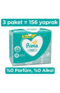 PRIMA 3LU ISLAK HAVLU SENSITIVE 52 LI