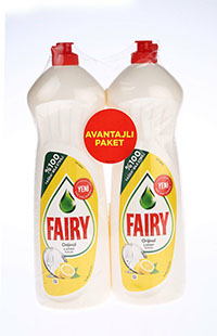 FAIRY SIVI LIMON 2X1000 ML