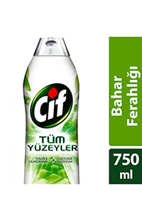 CIF TUM YUZEYLER BAHAR FER. 750 ML