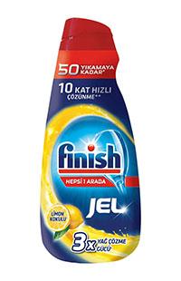 FINISH H1A JEL LIMON 1000ML