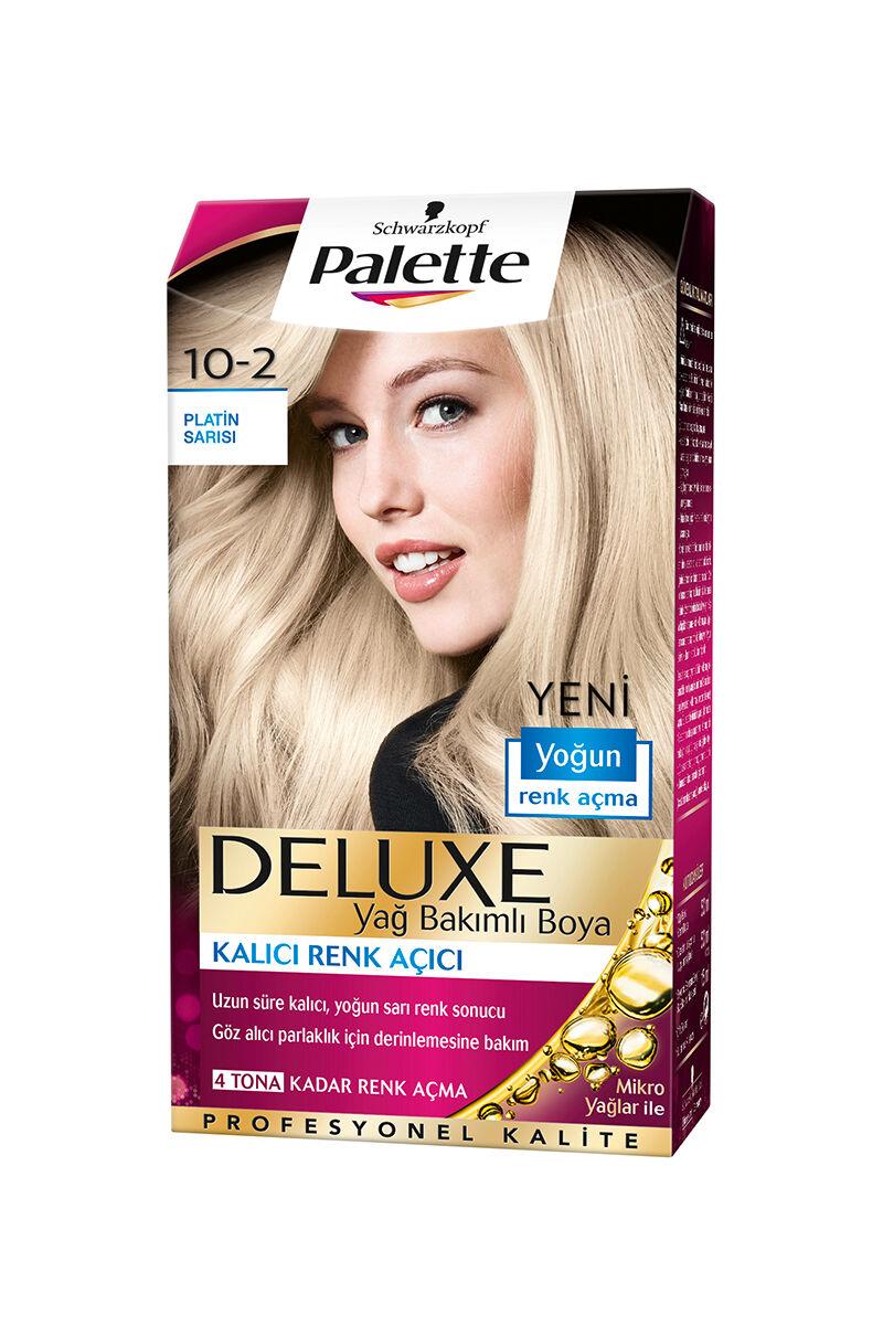 PALETTE DELUXE 10-2 PLATIN SARI