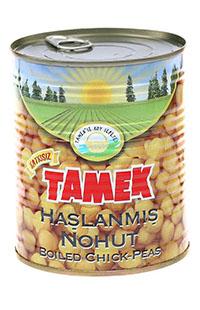 TAMEK HASLANMIS NOHUT 800 GR