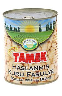 TAMEK HASLANMIS FASULYE 800 GR