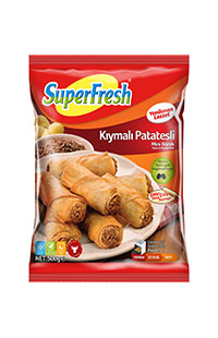 SUPERFRESH MINI BOREK KIYMALI PATATES 500 GR