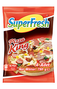 SUPERFRESH PIZZA KING 4'LU