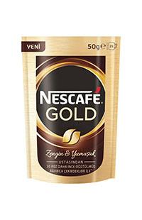 NESCAFE GOLD 50 GR.EKOPAKET