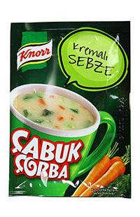 KNOR CABUK CORBA-KREMALI SEBZELI 18 GR