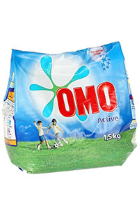 OMOMATIK ACTIVE 1,5 KG NATURE