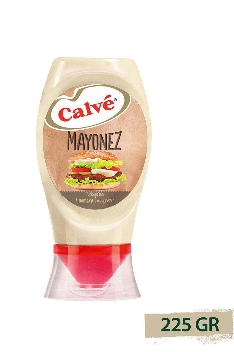 CALVE MAYONEZ PLASTIK 225 GR