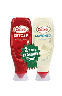 CALVE KETCAP 600 GR +MAYONEZ 540 GR SET