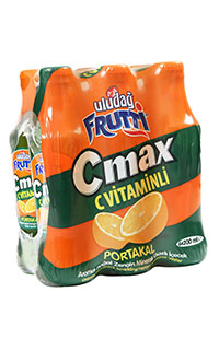 ULUDAG FRUTTI C MAX PORTAKAL 6X200 ML