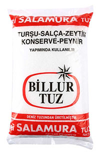 BILLUR TUZ 3 KG YIKANMIS SALAMURA TUZX5