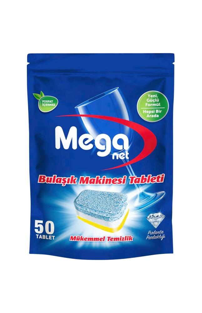 MEGANET BULASIK MAKINESI TABLETI H1A 50 LI 800 GR