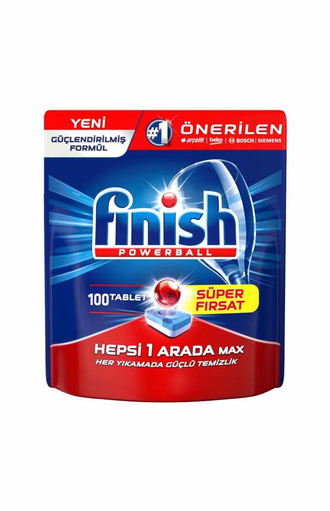 FINISH HEPSI BIR ARADA MAX 100 TABLET DOYPACK