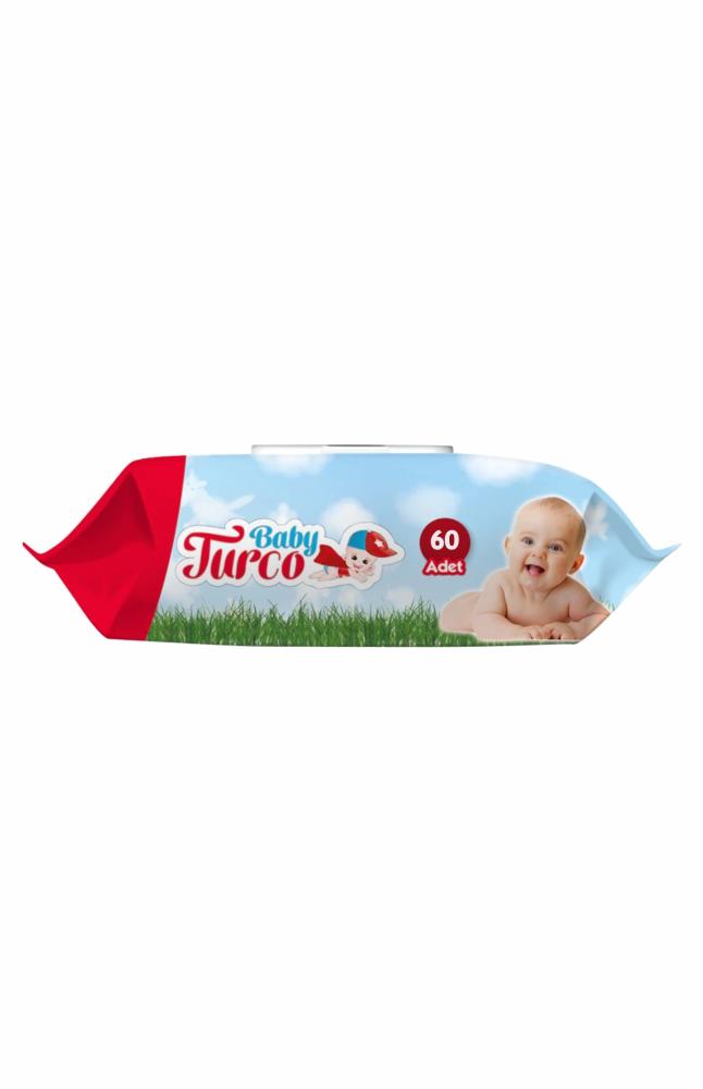 BABY TURCO ISLAK BEBEK HAVLUSU 60 LI