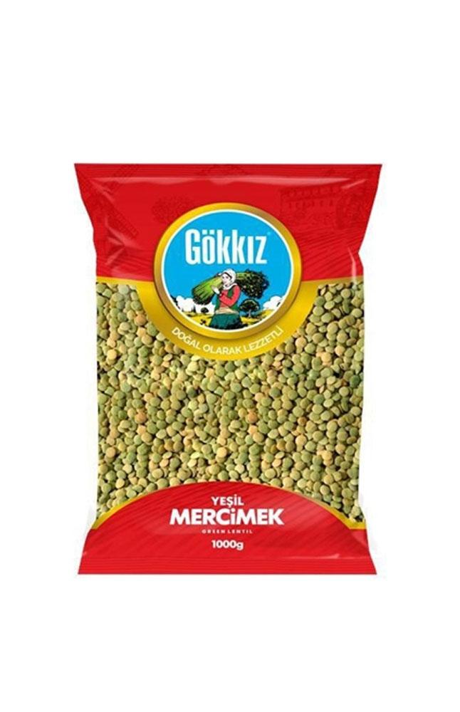 GOKKIZ YESIL MERCIMEK 1000 GR